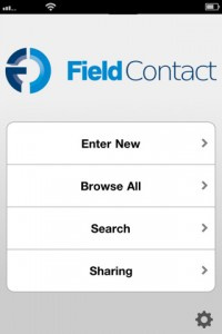 field contact for ipad