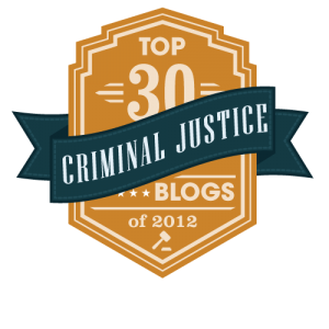 Best Criminal Justice Blogs 2012